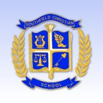 Color Crest with blue bkgd